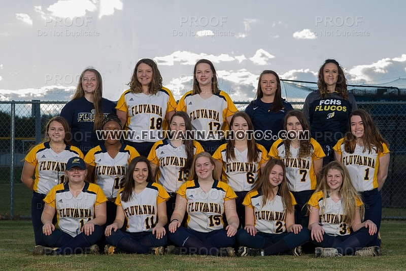 JV Softball - Team/Individual Photos