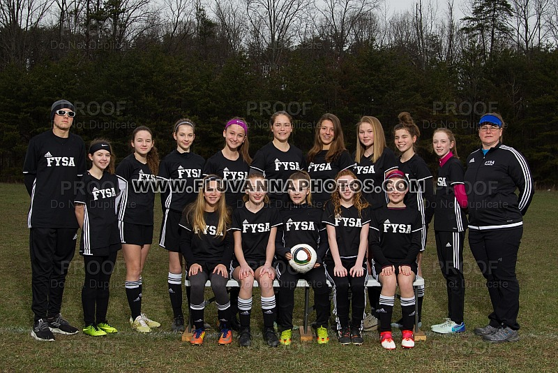 U14G - Team/Individual Photos
