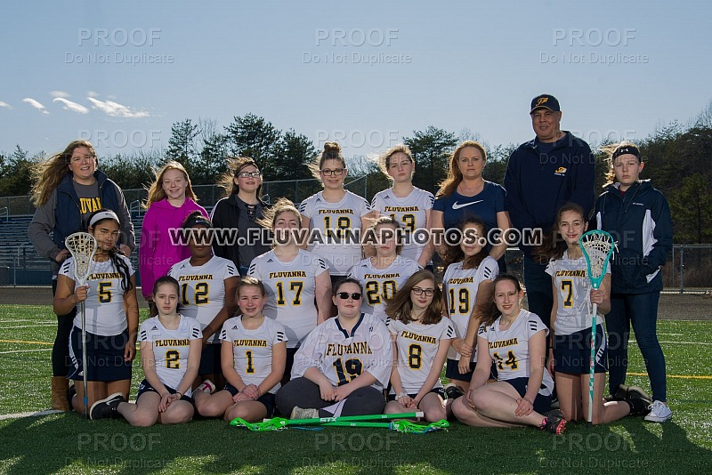JV Girls Lacrosse - Team/Individual Photos