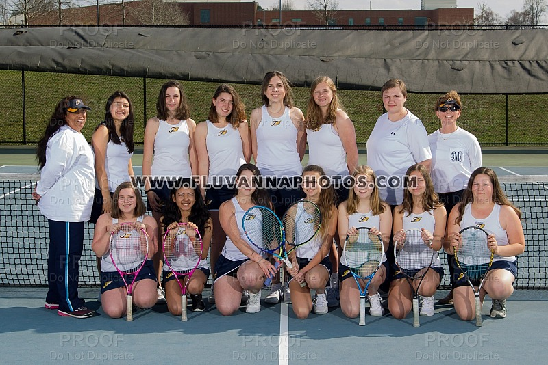 Girls Tennis - Team/Individual Photos