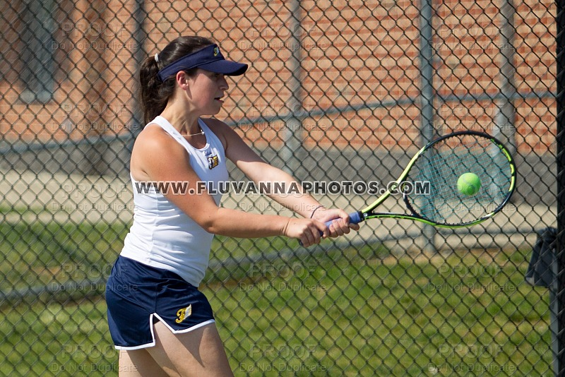 Girls Tennis Action (5/4/18)