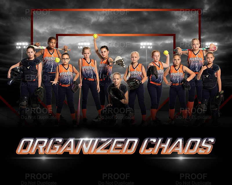 Organized Chaos - Travel Softball Team (2018)