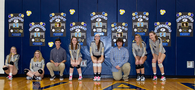 Volleyball Senior Night **FREE IMAGES**