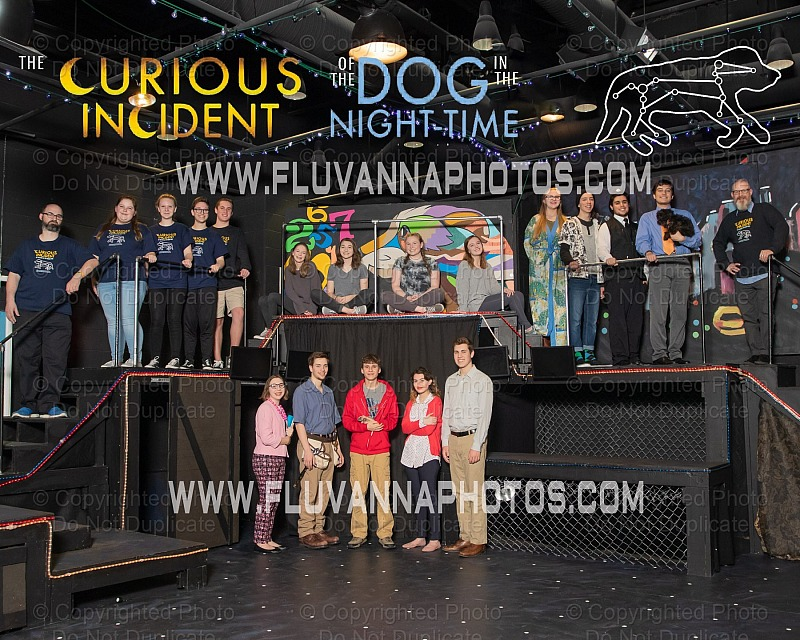"FCHS Drama ""Curious Incident of the Dog"" - Spring 2019"