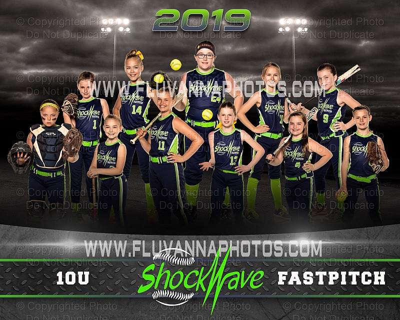 Shockwave 10U Softball - Cove Creek (2019)