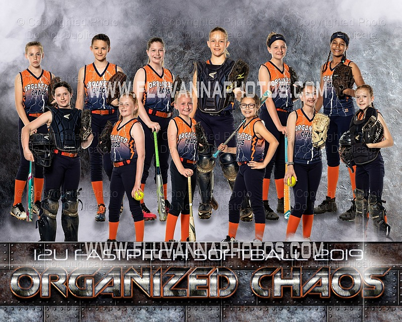 Organized Chaos 12U Softball - Light Academy (2019)