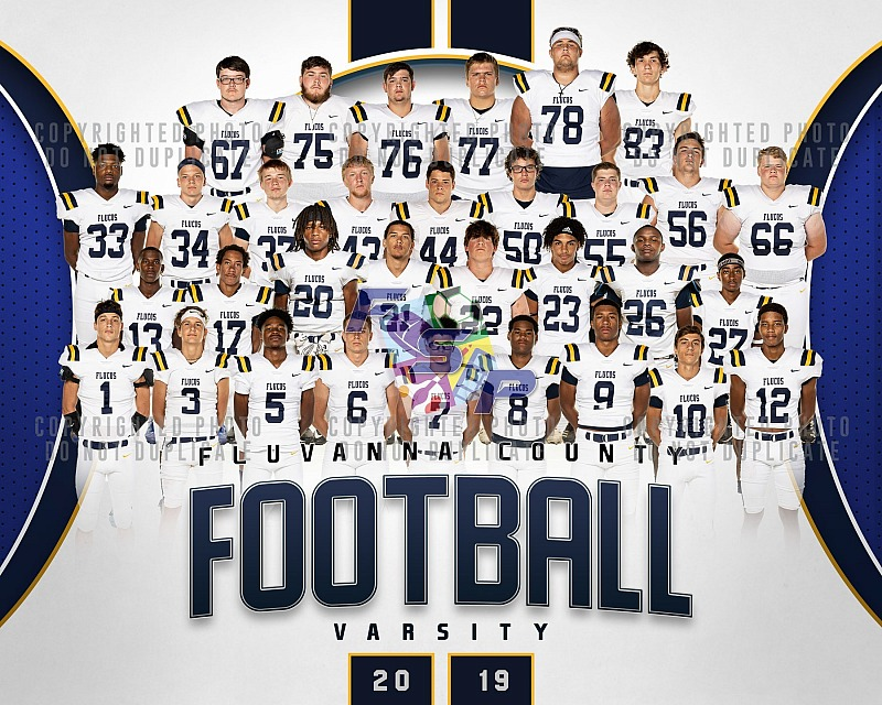 Varsity Football - Team/Individual Photos