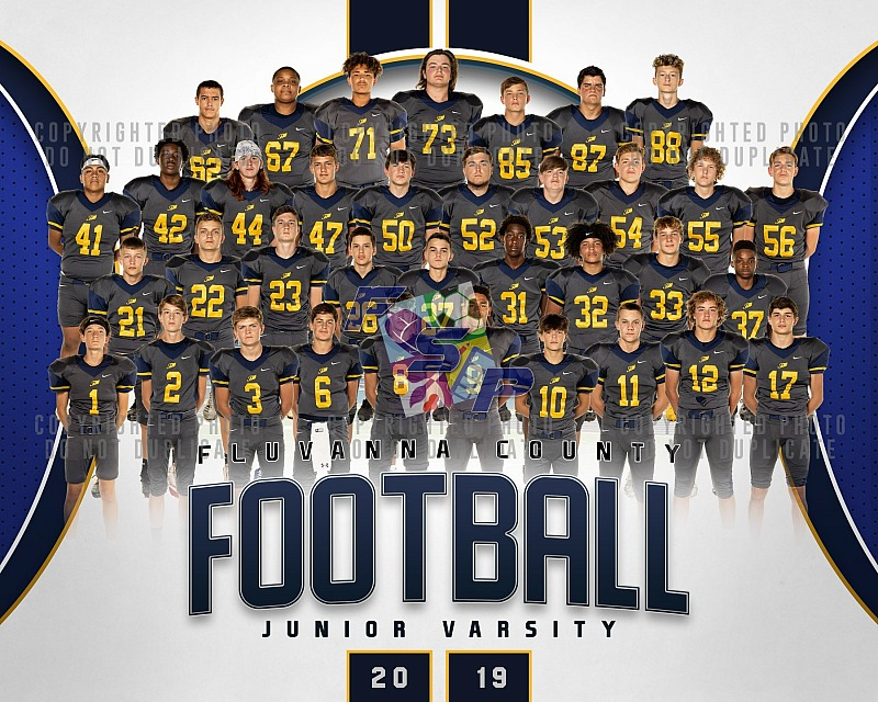 JV Football - Team/Individual Photos