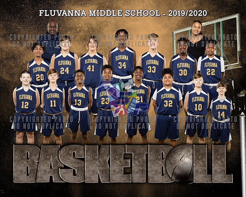 FMS Boys Basketball - Team/Individual Photos