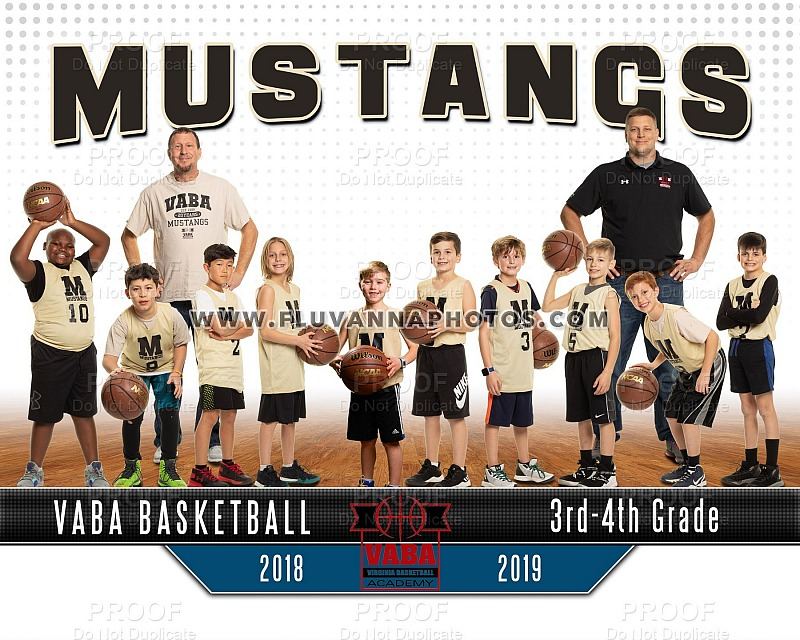VABA Mustangs - Team/Individual (2019)