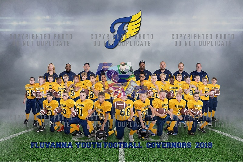 Fluvanna Youth Football Team/Individual Photos - 2019