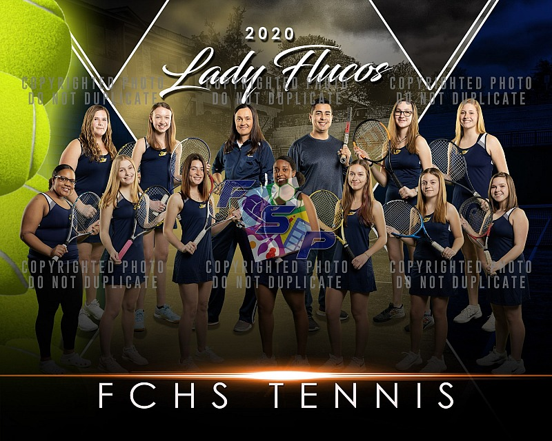 FCHS Girls Tennis - Team/Individual Photos